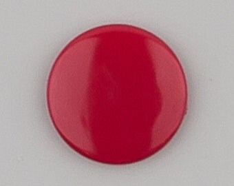 G104 Cranberry for Cloth Diapers/Bibs/Crafts/Plastic Snap Buttons Red