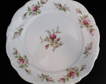 Moss Rose Dinner Plate Johann Haviland Bavaria