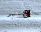 Morganite and Diamond Engagement Ring - 1.62ct.