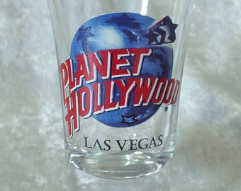 Planet Hollywood Las Vegas NV Shot Glass