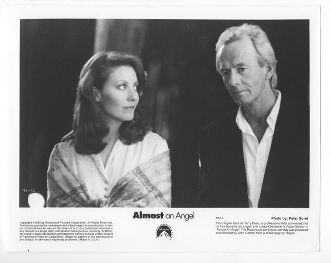 Vintage Paul Hogan Vintage 8x10 Movie Still From Almost an Angel - 1990