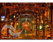 Riverside Drive Viaduct, historial, architecture, riverside drive, manhattan, nyc, metal, creativity, simply amazing, night, dark, mood