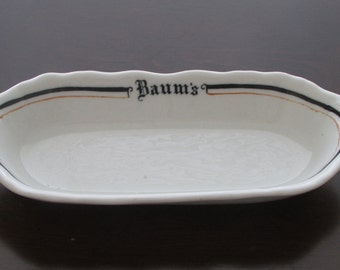 Baum's Celery Dish by Shenango China 1920's-1940's