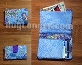 In The Hoop Quilted Wallet 5x7 hoop size digital design file for embroidery machine