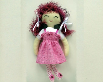 PDF Doll Pattern Rag Doll Cloth Sewing Pattern for Cloth Doll (Abbie)Digital Download ragdoll pdf rag doll soft doll pattern, primitive doll