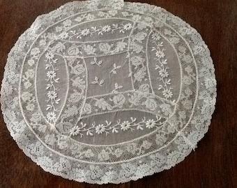 Vintage Ecru Lace Doily