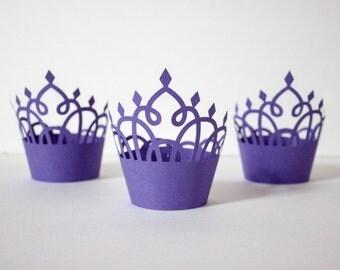 Tiara Cupcake Wrapper (Set of 12)