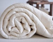 Turkish Towel Handwoven Pestemal Towel Pure Soft Ivory Bamboo