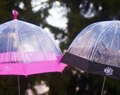Fashionable and Dry Monogrammed Umbrella Free Shipping