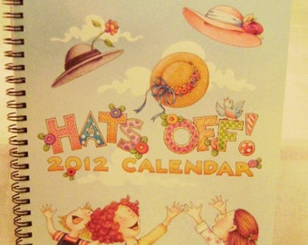 "Mary Engelbreit 2012 ""Hats Off!"" Engagement Desk Calendar"