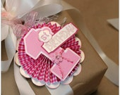 1st Birthday Card - Baby Girl