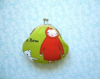 SALE  Meet the Gang small Coin purse - Handmade Gift
