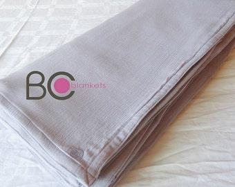 King 4 layer Cotton Gauze Muslin Comforter/ Coverlet Blanket