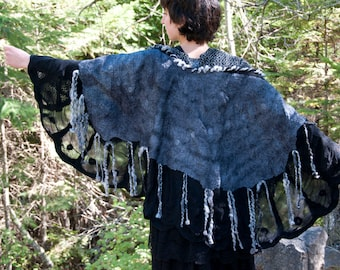 Night's Myth Shawl