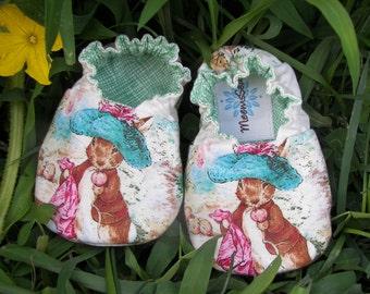 Baby Shoes--Benjamin Bunny--Beatrix Potter