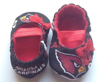 Arizona Cardinals Maryjane Booties