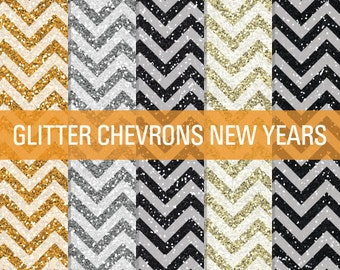 80% OFF Sale New Years Glitter, Chevron Glitter, Digital Papers, Glitter Digital, Glitter Papers, Glitter Textures, Glitter Backgrounds