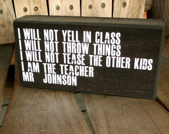 Personalized Teacher Gift Funny Teacher Gift By