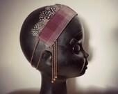 Headband Janis - Special price - boho gypsy festival pagan feathers headband crown
