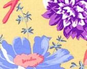 1/2 Yard Kaffe Fassett Fabric - 100% Cotton Quilt Fabric - Rustic Floral - Sand
