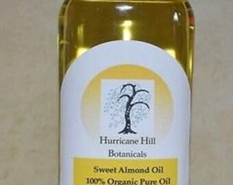 Sweet Virgin USDA Certified Organic Almond Oil 4 oz