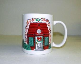 HOME for the HOLIDAYS Ceramic Mug Cup