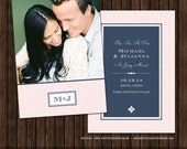 5x7 Save the Date Card Template - S17