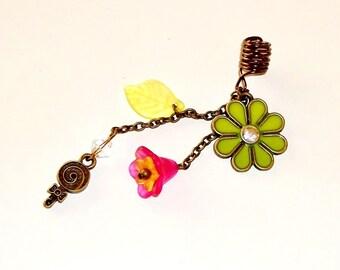 CLEARANCE - Young DIVA Goddess Dreadlock Jewelry - Daisy Bling Loc Jewel