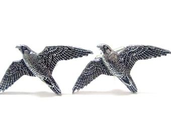 Peregrine Falcon Bird Cufflinks