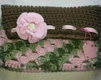 Multicolor folding purse