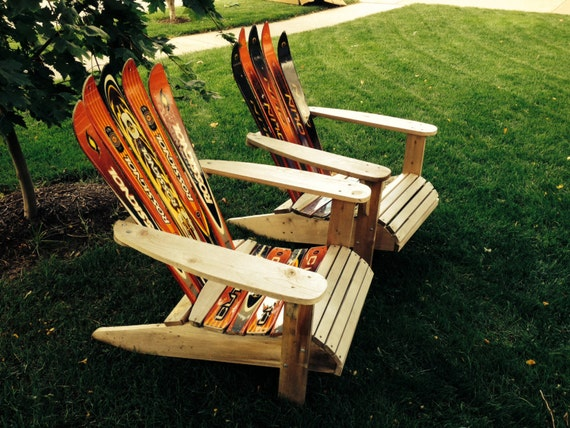 Cedar and ski adirondack chair the most comfortable chair for Chaise adirondak