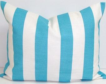 BLUE Pillows.12x16 or 12x18 Inch Pillow Covers.Nautical.Sea Cushion.Beach Decor.Decorative Pillows.Housewares.Blue Cushion.Beach House Decor