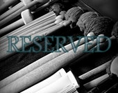 RESERVED: Drum Sticks and Mallets, Still Life, 8x10 Black and White Photograph