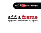 add a frame