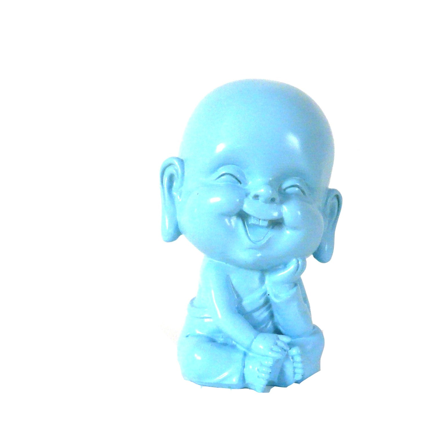 Buddha Bank Aqua Kids Decor Baby Room Pastels Piggy By Nashpop