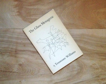 Tennessee Williams, The Glass Menagerie - Vintage Book 1970