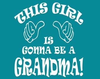 New Grandma Shirt Promoted to Grandma Tee Nanna Oma Granny Grandparent Ladies Women Pregnancy Announcement Small Medium Large Xlarge 2XL 3XL