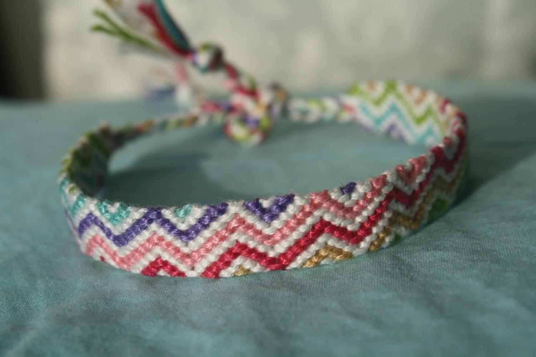 friendship bracelet get beachy zig zag
