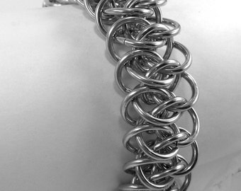 Unisex Viper Chainmaille Bracelet