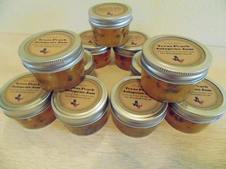 mini mason jar wedding favors jam jelly hostess gifts. Black Bedroom Furniture Sets. Home Design Ideas