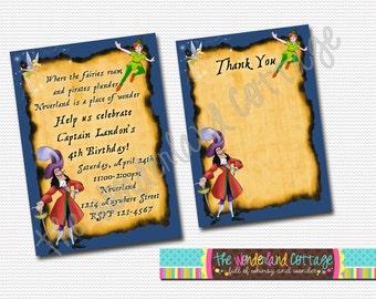 Disney Peter Pan Invitation