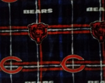 Chicago Bears Flannel Print Baby Carrier Cozy Cover Up for Infant Car Seat