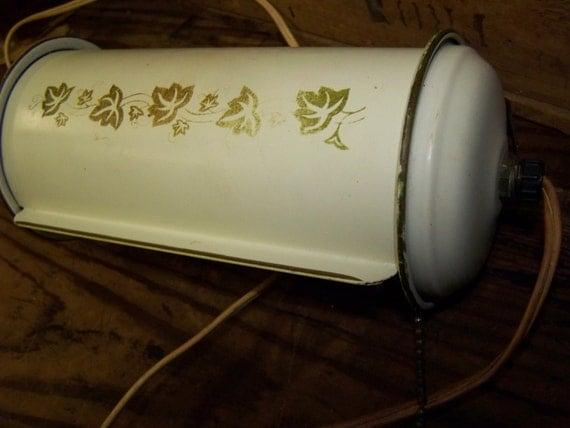 Portable Lamp Vintage Headboard Lamp Metal Retro Lamp