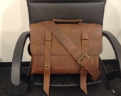 Leather Cross body  Handmade Messenger Bag, Custom Leather Courier Bag, Leather Accessories for Men