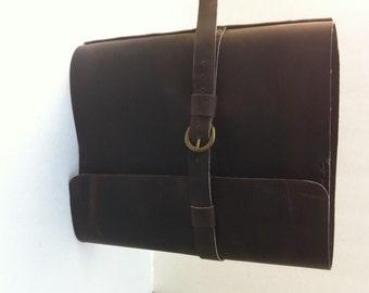 Ring Binder Leather Portfolio-Photography Portfolio-1.5 Inch Ring Binder Portfolio-Greeting Cards Portfolio-Custom Leather Ring Binder