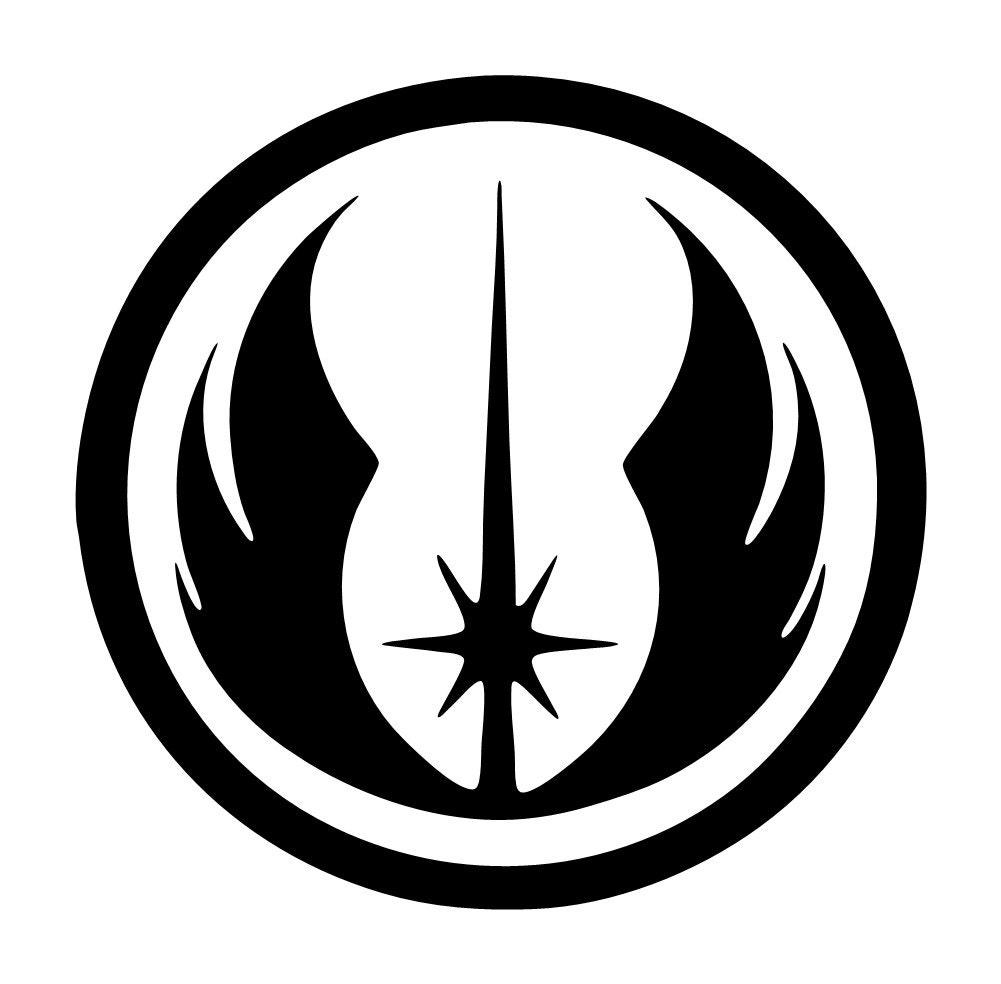 Gray Jedi Order Symbol
