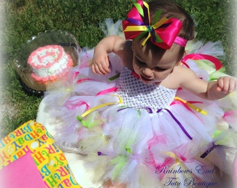 Birthday Girl  Tutu dress sizes 6m -9m. 9-12m, 12-18m, 2t, 3t, 4t, 5t