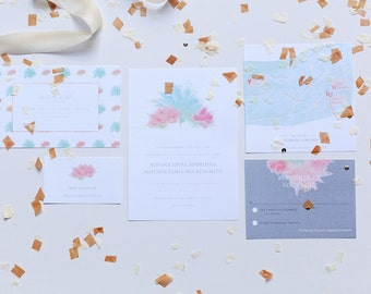 The Sweetheart Wedding Invitation Suite