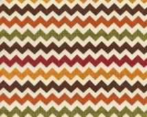Chevron - Ziggy Harvest - 1 Yard Cut - Timeless Treasures - Zig Zag Fabric - Cotton Fabric