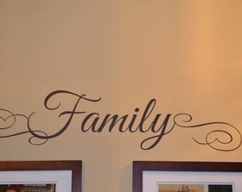 Family Vinyl Decal